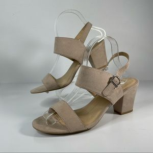 CL by Chinese Laundry  Spot On Block Heel Sandals